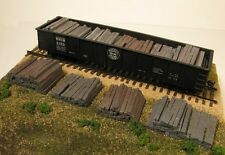 Monroe Models HO Scale Trains Scenery 2108 Weathered Resin Railroad Tie Stacks