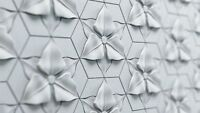*AMADEA* 3D Decorative Wall Stone Panels.ABS Form Plastic mold for Plaster