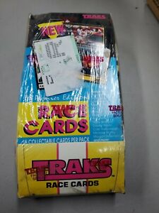 1991 Premier Edition Traks Race Cards Factory Sealed Box