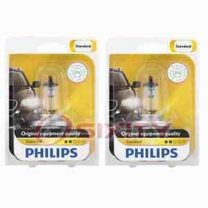 2 pc Philips High Low Beam Headlight Bulbs for Toyota 4Runner Avanza Camry nu