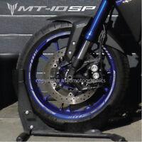20 Couleurs-MT 10 mt-10 SP mtm1000d 8 x Yamaha MT10 Jante De Roue Stickers Autocollants