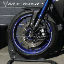 MT-10 SP motorcycle wheel decals stickers rim stripes MT 10 motorbike mt10sp