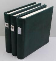 Bundesrepublik 1970 bis 1996 postfrisch + gestempelt in 3 Lindner-T-Alben