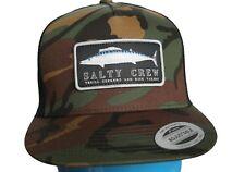 New Salty Crew Wahoo Mount Camo Snapback Trucker Hat