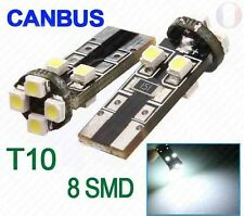 8 LED 501 T10 W5W WEDGE CANBUS NO ERROR SIDE LIGHT BULB