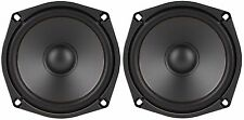 "NEW PAIR 5-1/4"" / 5.25"" Mini Subwoofer Woofer Speaker High Definition 8 Ohm 200W"