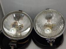2 x LUCAS LR9 FT/LR6/9 SPOT FOG LAMP WITH COVER ~ CLASSIC CAR