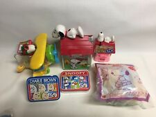 Peanuts Snoopy Grab Bag of Candy containers (lot of 6)