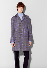 Dunhill. Men's Houndstooth Rain Mac. Digital print. Size Medium. RRP £895. BNWT.