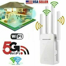Us Wifi Extender Range Signal Booster Wireless Dual-Band Network Repeater 1200Mb