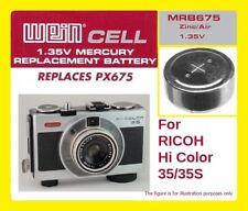 Per Ricoh Hi Color 35/35s - Batteria Zinco/Aria WeinCell MRB 675 - 1,35 V