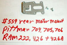 Rear Motor carrier Chassis by Dynamic for Pitman 704 and OTHERS #559