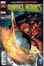 MARVEL HEROES EXTRA  9 (Marvel Panini 2012) PLANET RED HULK, Vends autres MARVEL