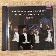 Carreras Domingo Pavarotti The Three Tenors In Concert Music CD