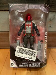 DC Batman Arkham Knight Red Hood Gamestop Exclusive Action Figure OPNBX