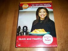 30 MINUTE MEALS Rachael Ray Food Network TV Show 3 DVD Quick Healthy DVD SET NEW