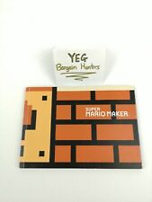 Super Mario Maker Collector Book Art Booklet Only Canadian Seller Fast Ship