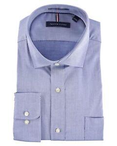 Tommy Hilfiger Men's Stretch Regular Fit Dress Shirt - Size: Medium     -    O-9
