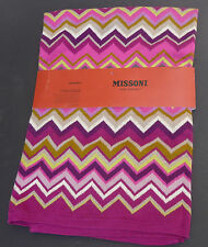 MISSONI FOR TARGET BABY BLANKET THROW PURPLE PASSIONE NWT