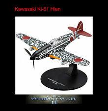 Kawasaki Ki-61 Hien Japanese Army Air WW 2 Fighter Airplane Die-cast Altaya MIP