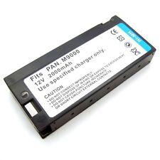 12v Battery for Panasonic AG455MUP AG455UP CVL325AV01 CVR325 M3000 M3300 M9000