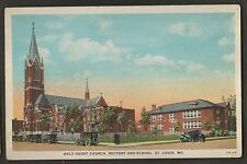 Holy Ghost Church Rectory and School St Louis Missouri