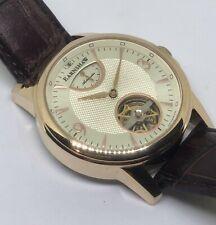 Elegante THOMAS EARNSHAW Reloj Automático para Hombres con indicador de reserva de energía