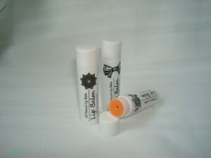 ORGANIC NATURAL HANDMADE LIP BALM WITH ROSE GERANIUM PALMAROSA ESSENTIAL OIL
