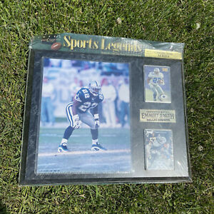 Global Sports Legends 1997 Emmitt Smith Dallas Cowboys Collector Series Plaque