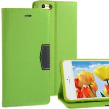 """Bookstyle Wallet Case for Apple iPhone 6 Plus (5,5"""") Anthracite Green Cell Phone Bag"""