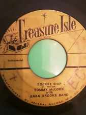 TREASURE ISLE RECORDS ROCKET SHIP BABA BROOKS  ORIGINAL