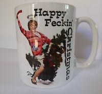 Mrs Browns Boys Happy Feckin Christmas Xmas Secret Santa Gift Present Mug Cup