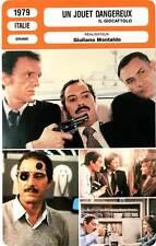 FICHE CINEMA : UN JOUET DANGEREUX - Manfredi,Jobert,Montaldo1979 A Dangerous Toy
