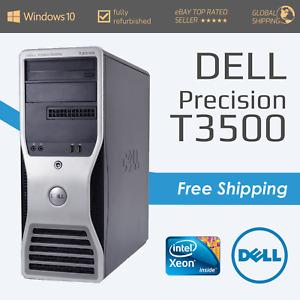 Dell Precision T3500 - Intel Xeon Quad Core W3565 - 4GB RAM - Business - Windows