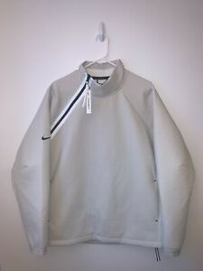 NWT Nike Sportswear Tech Pack Long Sleeve Woven Jacket Sz Large White AR1546-072