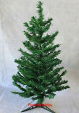 Perfect Holiday 2/3/4ft Artificial PVC Christmas Tree Green/White Unlit