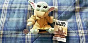 Disney Star Wars The Mandalorian The Child Yoda Magnetic Shoulder Plush Toy