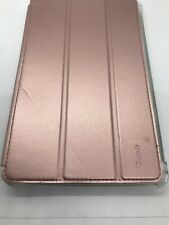 For Amazon Kindle Fire HD 7 Case 2019 Flip Rose Gold