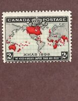 CANADA, Scott# 85, 2c 1898 Christmas Issue, M-Hinged (PLease See Photos)