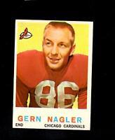 2001* 1959 Topps # 93 Gern Nagler Vg-Ex