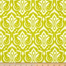 SALE !! Emma's Garden Ikat Damask in Leaf by Patty Sloniger quilting fabric