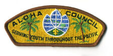Aloha Council Serving Youth Throughout The Pacific Boy Scout Patch