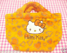 Sanrio Hello Kitty Orange Heart Lunch Bento Bag / Japan 2015