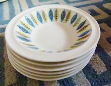 Wedgwood Samos Vintage Great Condition 6 eared oatmeal/cereal/small soup bowls