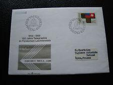 LIECHTENSTEIN - enveloppe 1er jour 4/12/1969 (cy17)