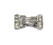 4PCS Antique Silver Magnetic multi Strand Clasps- Jewelry Supplies