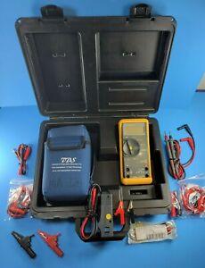 Fluke 78 Automotive Meter, Very Good, Screen Protector, Hard Case, More