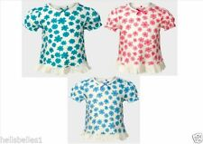 George Girls' Floral 100% Cotton T-Shirts & Tops (2-16 Years)