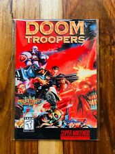 Doom Trooper Mutant Chronicles Manual Only Super Nintendo SNES EXCELLENT N MINT