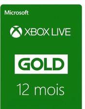 12 mois Carte Abonnement Xbox Live Gold